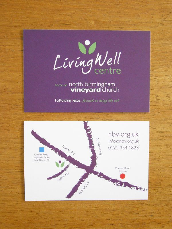 LivingWellBusinessCards